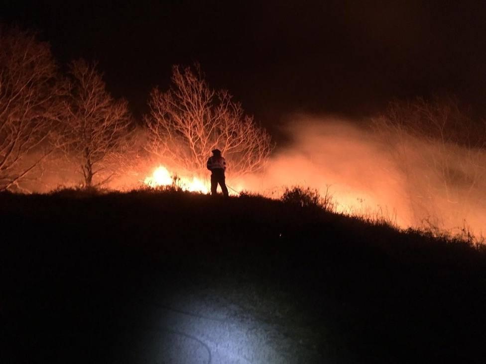 Foto de archivo de un incendio forestal - FOTO: Europa Press