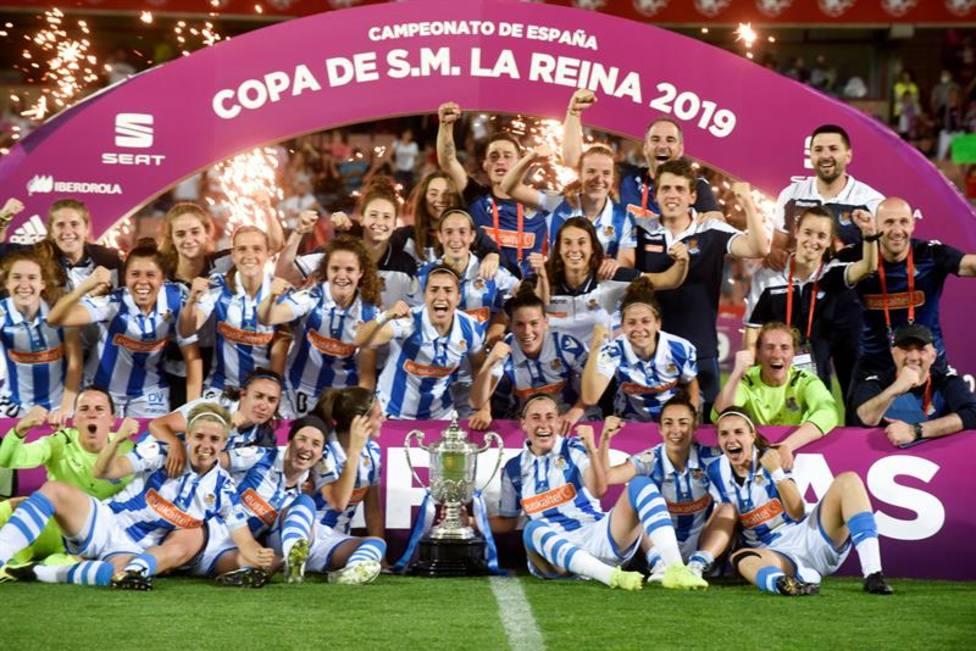 Real Sociedad, campeona de la Copa de la Reina