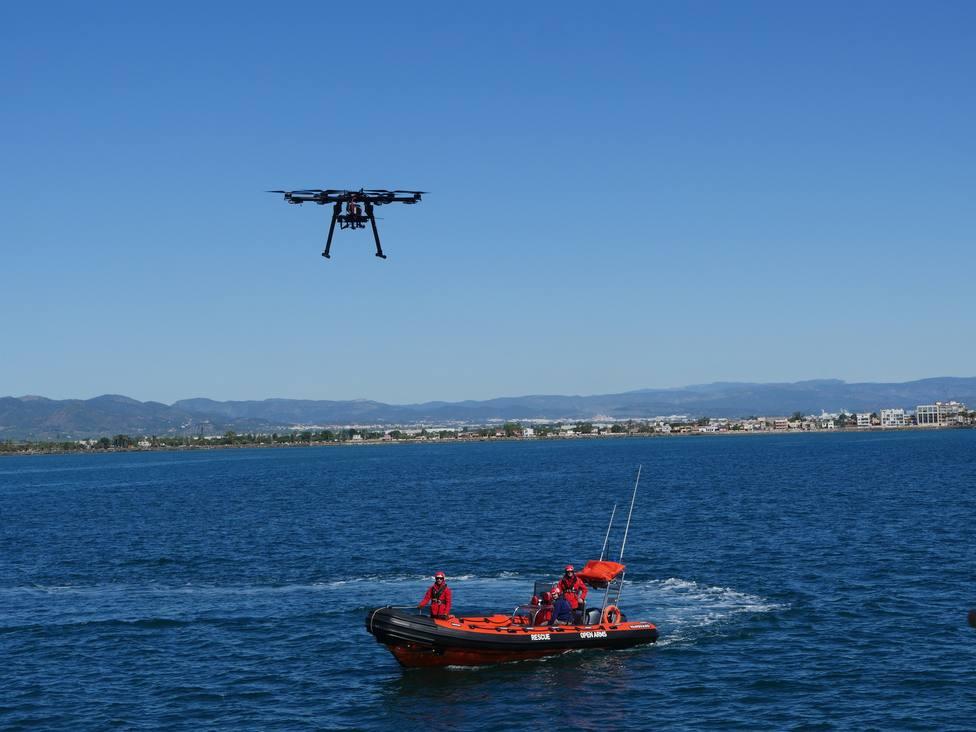 Un dron ayudará a Proactiva Open Arms a rescatar a migrantes en el Mediterráneo