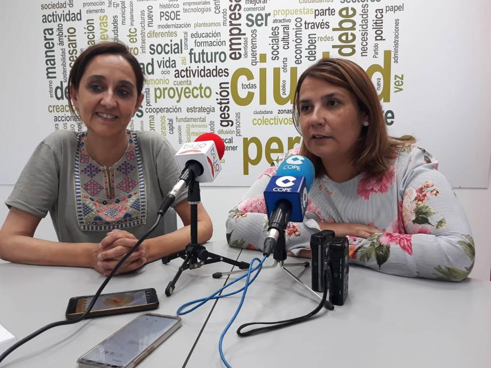FLORA BELLÓN Y TITA GARCÍA ÉLEZ