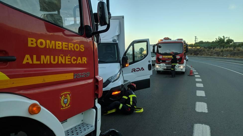 Rescate de vehículo en Almuñécar