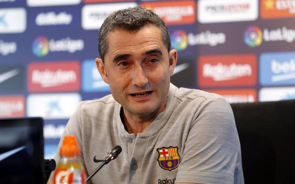 Valverde: Me parece increíble la guerra constante de Federación y Liga, la imagen queda tocada