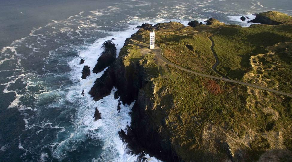 Faro de Punta Frouxeira, en Valdoviño - FOTO: Diputación de A Coruña