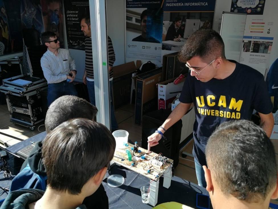 Salud y deporte, protagonistas de la actividad de la UCAM en la Semana de la Ciencia
