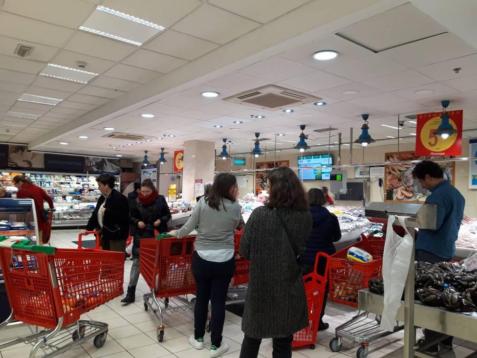 Los supermercados llaman a la calma