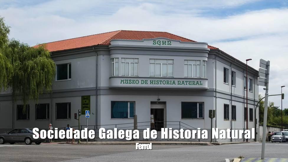 Exteriror del Museo de Historia Natural de la Sociedad Galega de Historia Natural