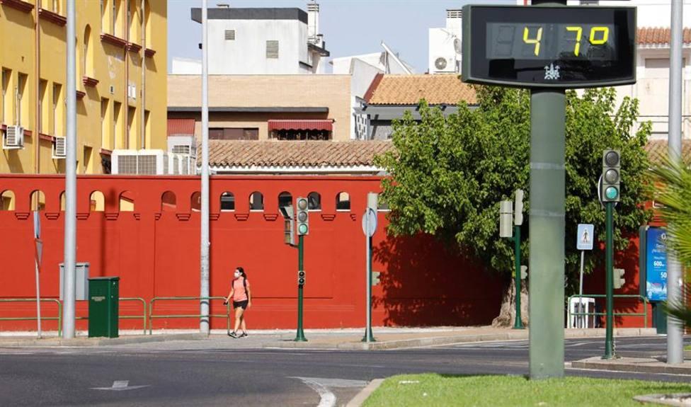 Un termómetro marcaba 47º en Córdoba hace unos días