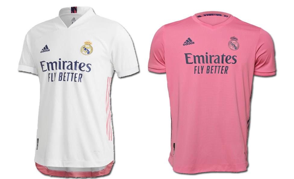 Camisetas Real Madrid para la 2020/21