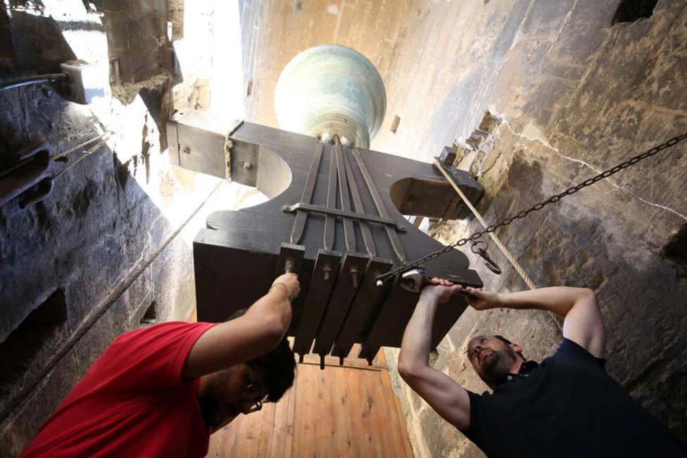 Repret de les campanes (foto de archivo)