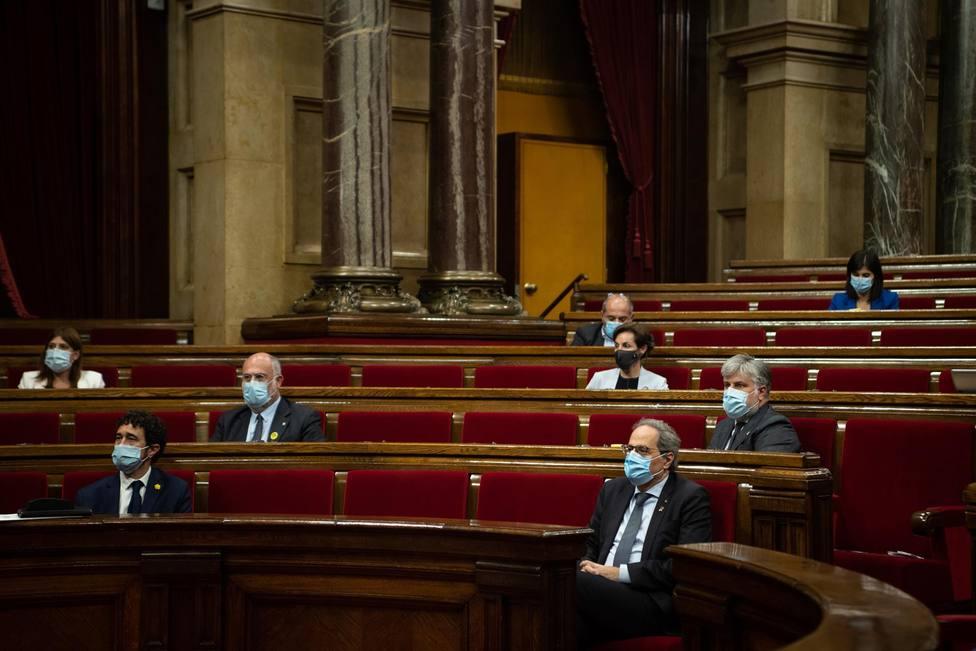 Pleno del Parlament del viernes