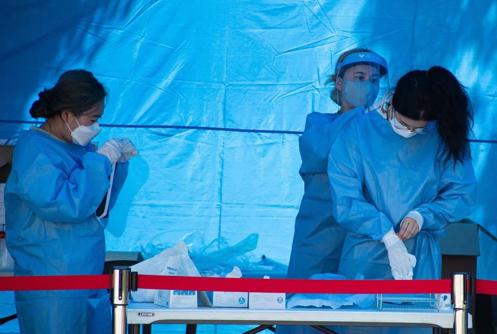 Corea del Sur ve indicios de contagio en una reciente manifestación en Seúl