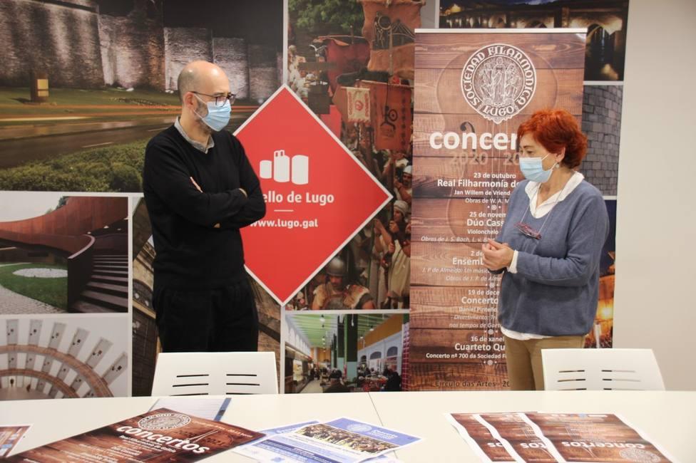Diez conciertos hasta mayo en la 74 Temporada de la Sociedade Filarmónica de Lugo
