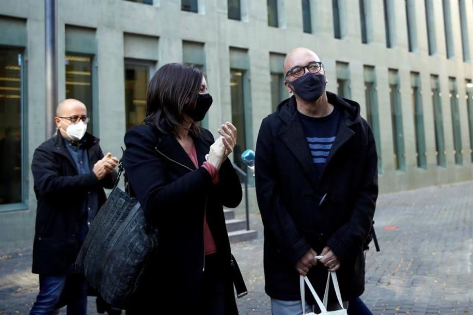 El juez deja en libertad a algunos de los detenidos por el desvío de fondos públicos para el procés