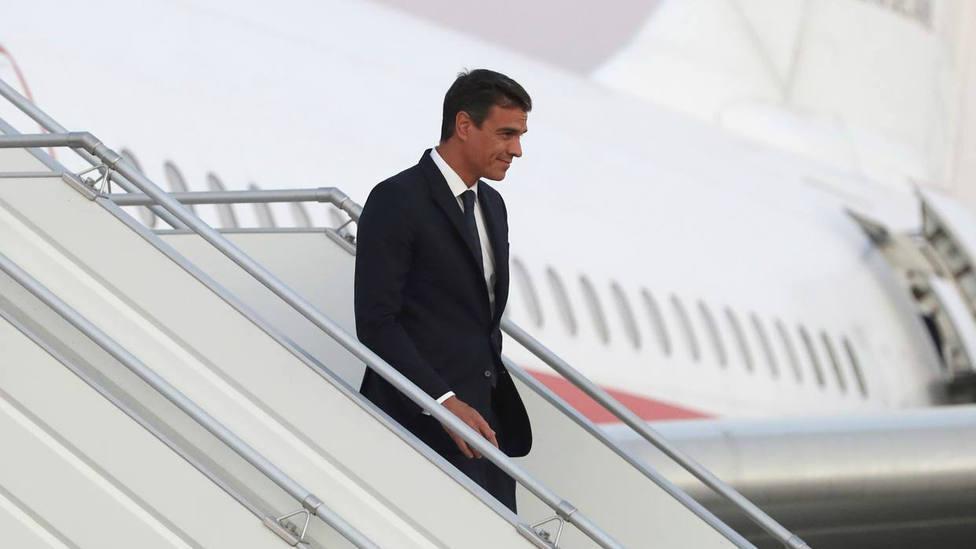 El Gobierno rechaza facilitar datos de los acompañantes de Sánchez en los Falcon alegando que es materia clas