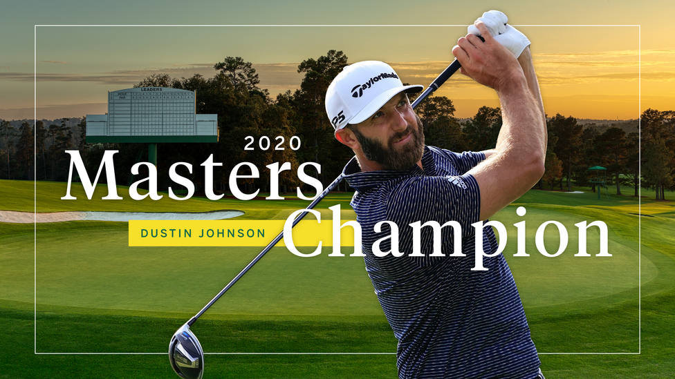 Dustin Johnson se adjudica su primer Masters de Augusta y su segundo Major