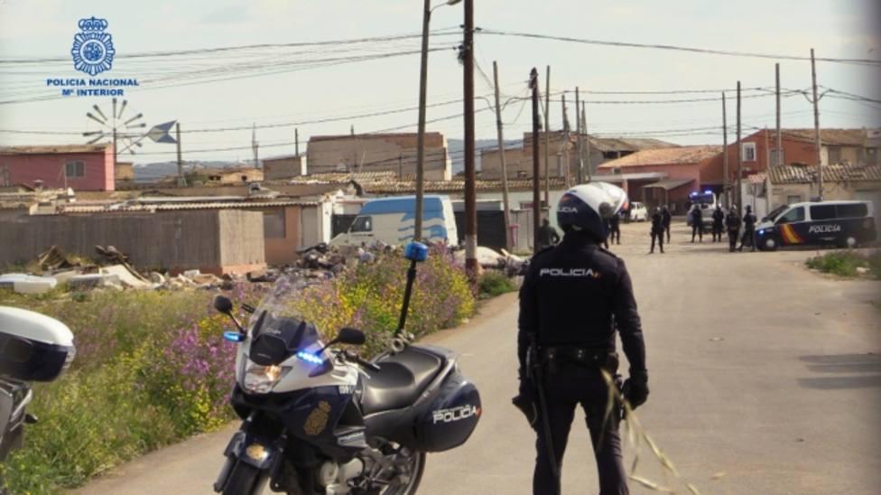 Policía en Son Banya
