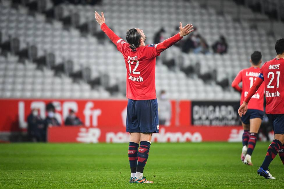 El Lille presiona al PSG