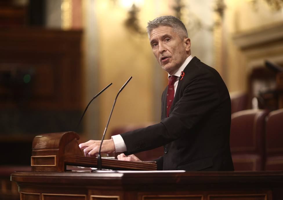 Marlaska critica que Cs lo señale como hizo ETA y asegura que no se paga ningún peaje por los PGE
