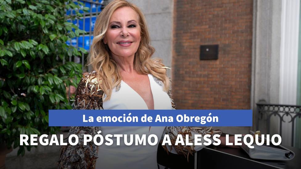 La emoción de Ana Obregón al recibir el regalo póstumo de los Reyes Magos en memoria de su hijo