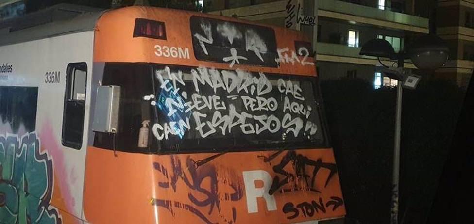 Renfe denuncia más de 1.000 intrusiones por vandalismo grafitero en Catalunya el 2020