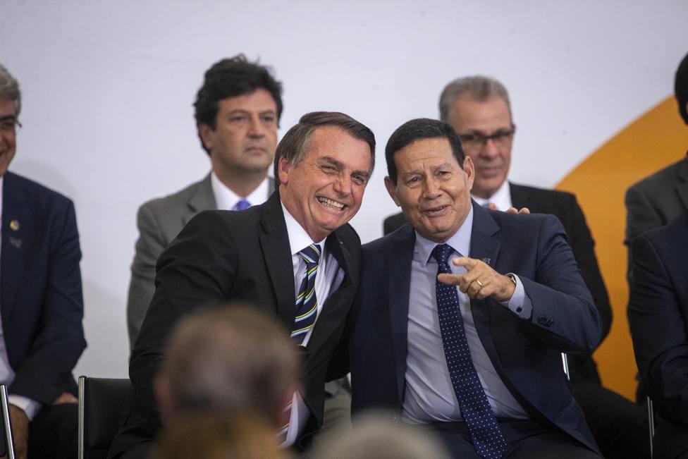 Bolsonaro desplanta de nuevo al vicepresidente Mourao dejándole fuera de la última reunión ministerial