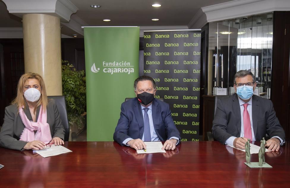 Bankia apoya con 330.000 euros a Fundación Caja Rioja para proyectos sociales, medioambientales y culturales