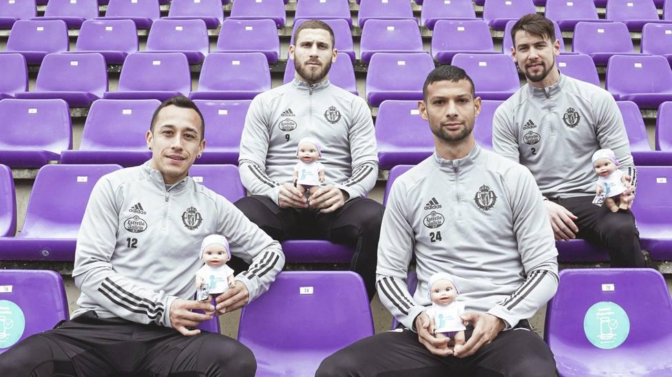 Miles de muñecos serán el público este sábado en el Zorrilla para apoyar al Real Valladolid
