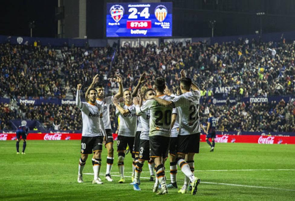 El Valencia CF ganó el último derbi jugado en Orriols