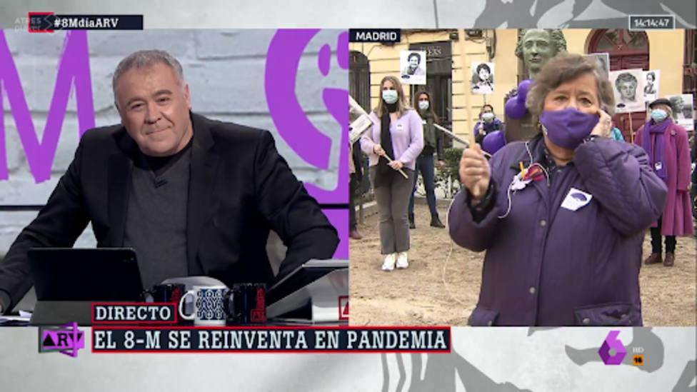 Cristina Almeida deja en shock a Ferreras con su reflexión feminista sobre Díaz Ayuso: en una palabra