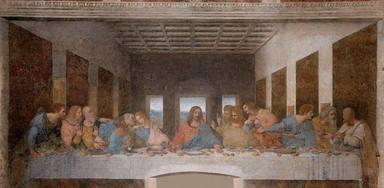 La última cena, obra maestra de Leonardo Da Vinc
