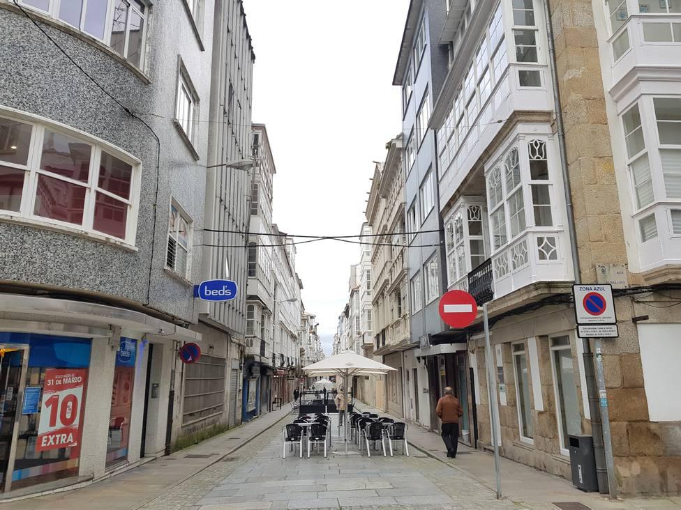 Calle Magdalena. FOTO: PP Ferrol