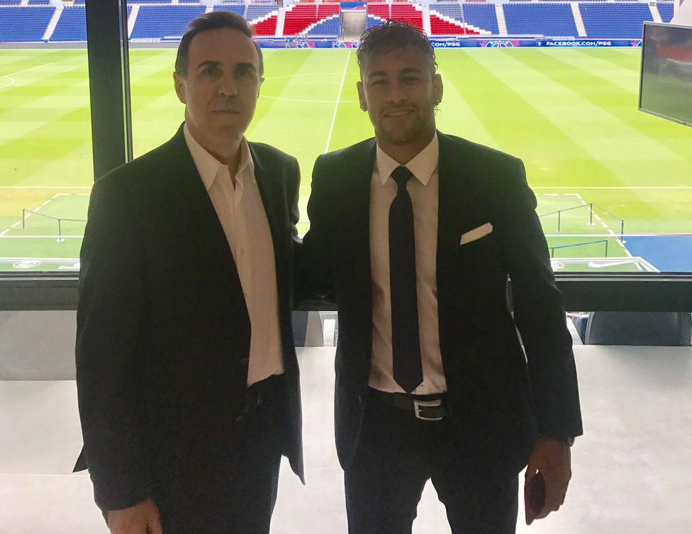 Wagner Ribeiro y Neymar