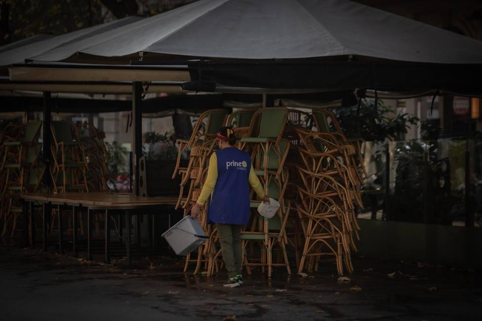 Boicot al toque de queda por parte de los restauradores de Barcelona tras el 9M