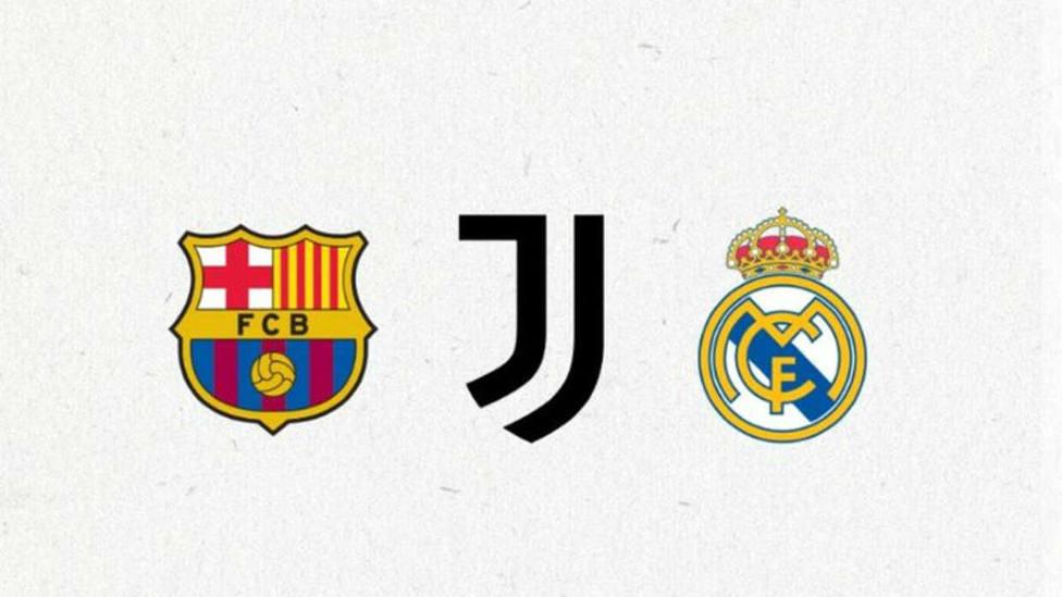 Comunicado conjunto de Barcelona, Juventus y Real Madrid