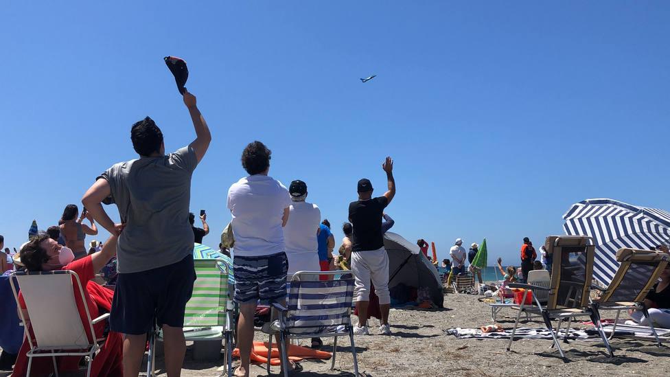Se celebra con éxito el XV Festival Aéreo en Motril acercándonos a la normalidad