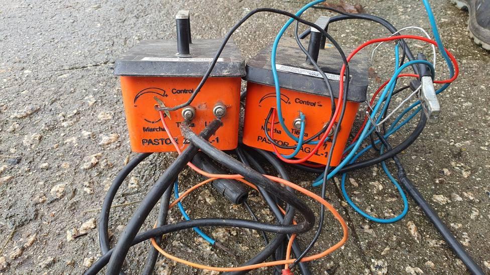 Pastores eléctricos robados en la Devesa (Ribadeo)