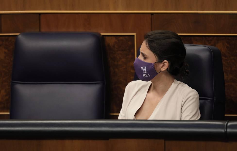 """Irene Montero rentabiliza la labor de Calvo con la Ley del """"Sí es Sí"""""""