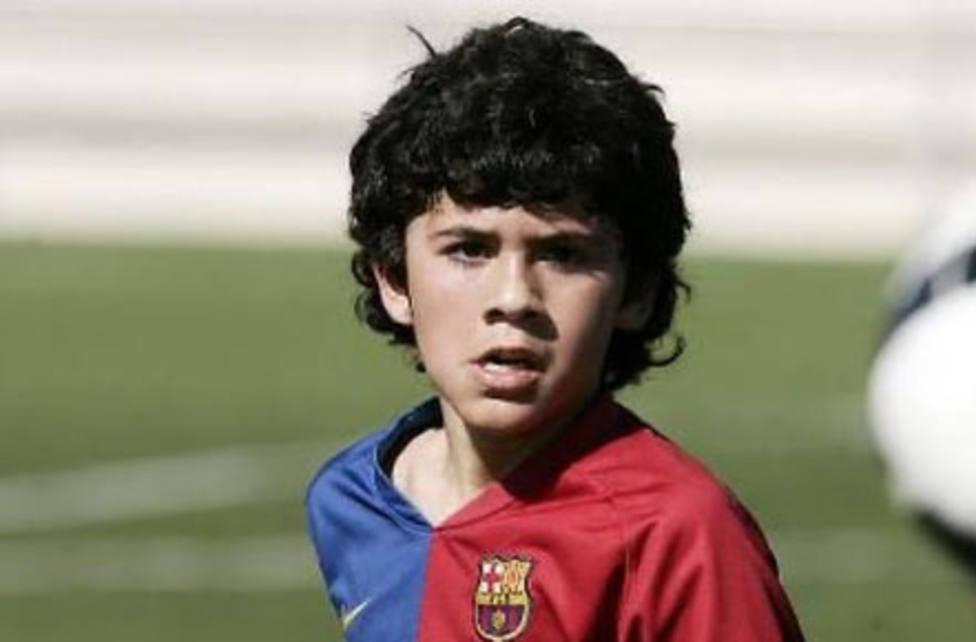 Aleñá con el FC Barcelona