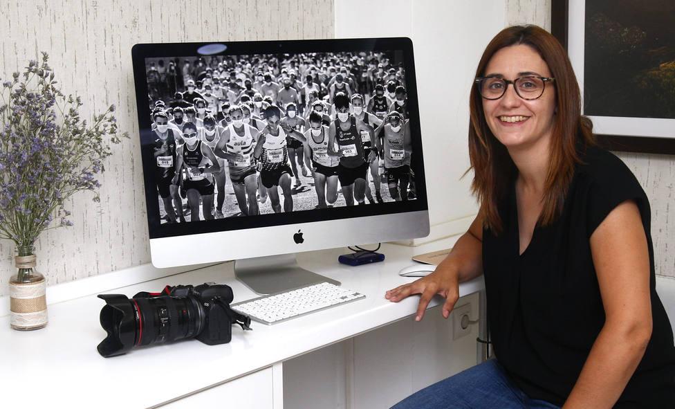 La fotógrafa de la Agencia Ical en Ciudad Rodrigo (Salamanca), Isa Vicente, se ha alzado con el VIII Premio Internacional de Fotografía Deportiva Félix Ordóñez en la categoría de profesionales