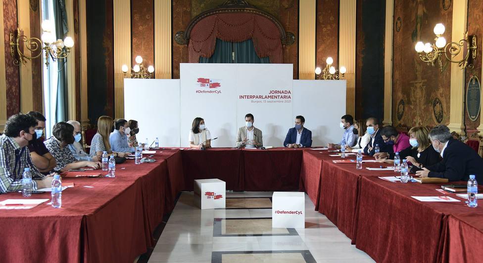 Interparlamentaria del PSOE de Burgos