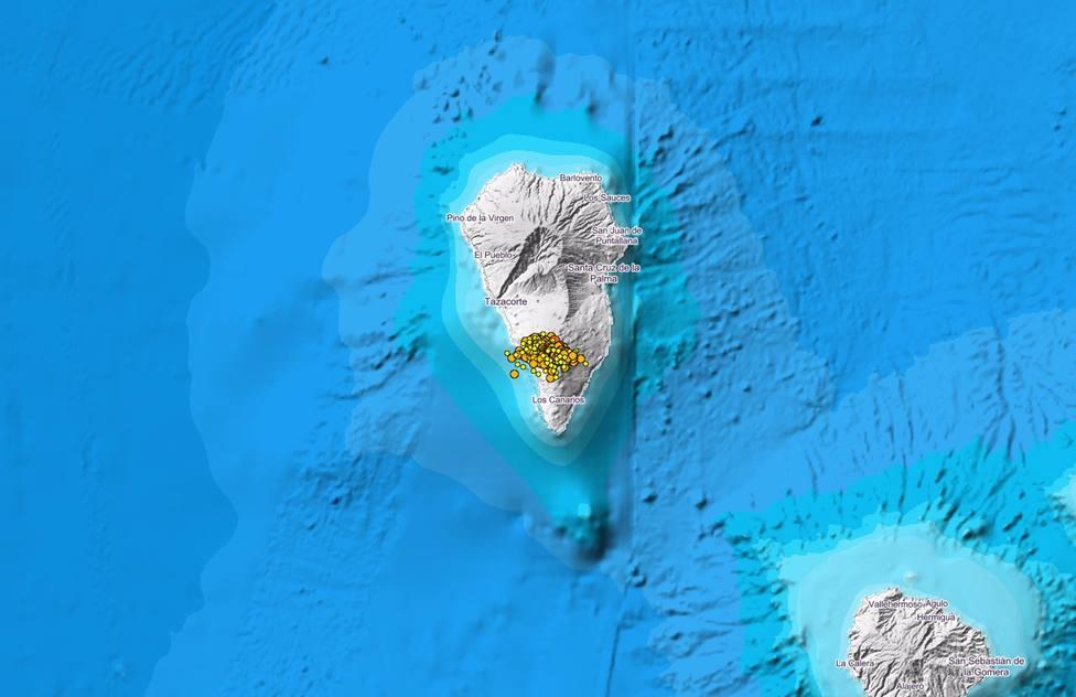 El enjambre sísmico en La Palma