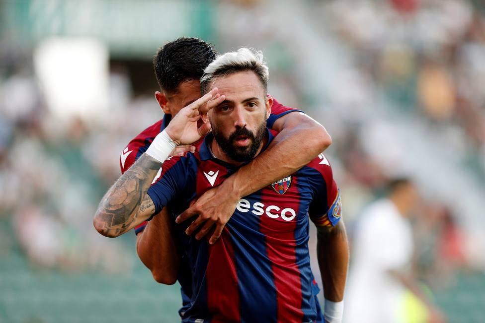 Morales marcó el gol del Levante UD en Elche