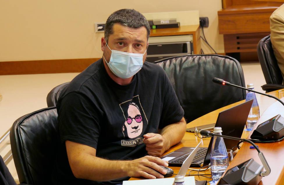 Mon Fernández es diputado en el Parlamento de Galicia - FOTO: BNG