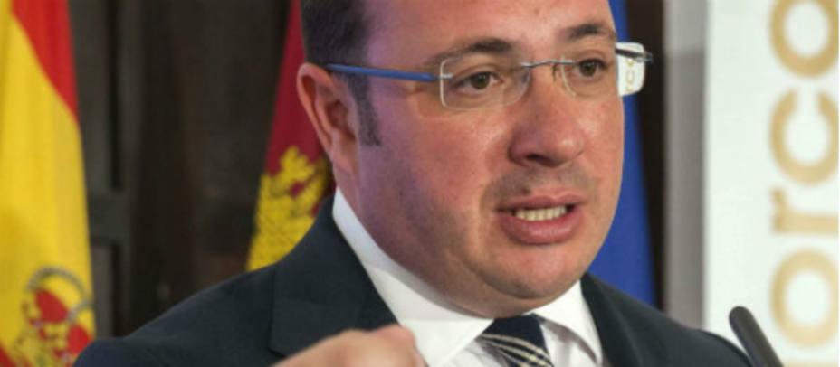 Pedro Antonio Sánchez, presidente de la Región de Murcia. EFE