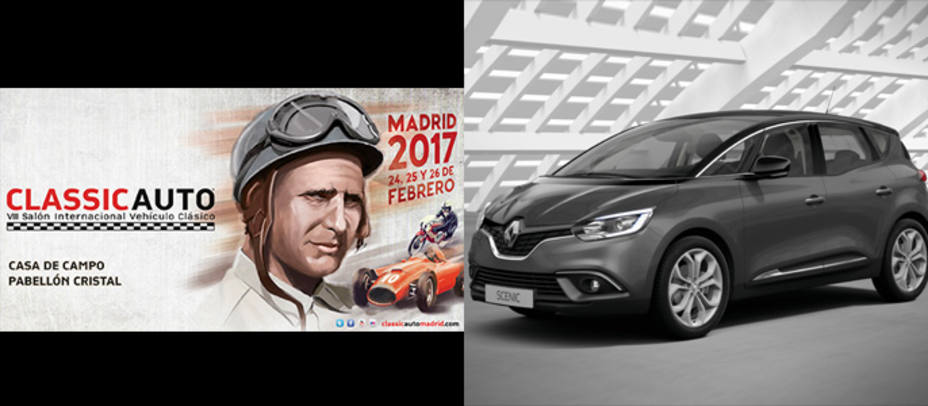 ClassicAuto Madrid y Renault Scenic 1.5 DCI 110 CV