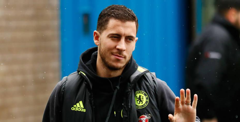 El jugador del Chelsea Hazard podría fichar por el Real Madrid (Reuters)