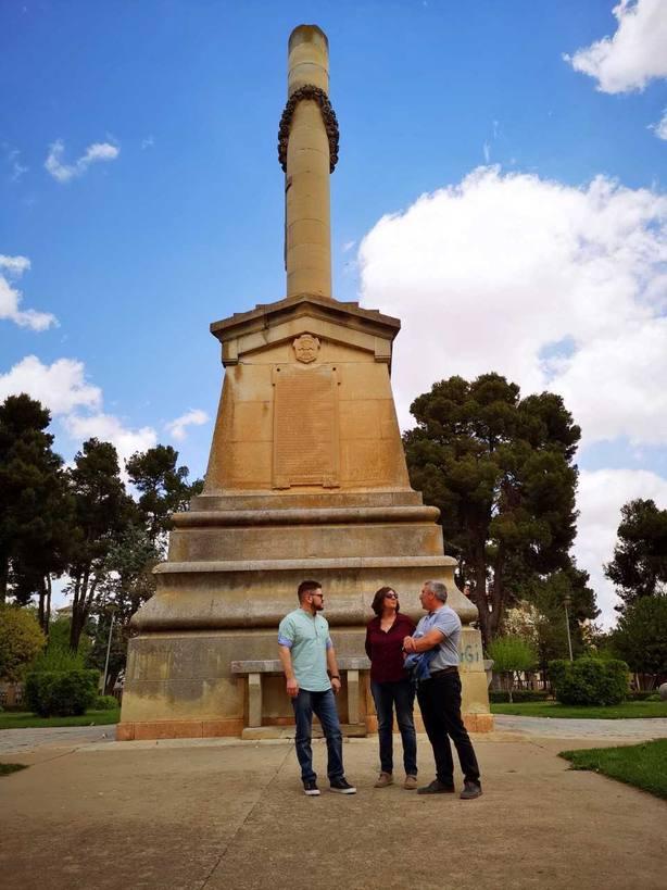 Monumento en Villarrobledo