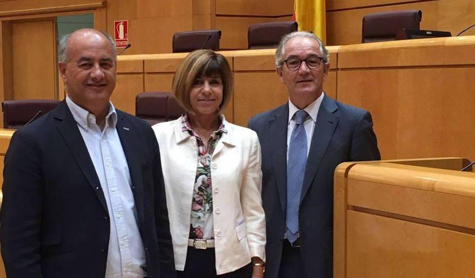 senadores PP