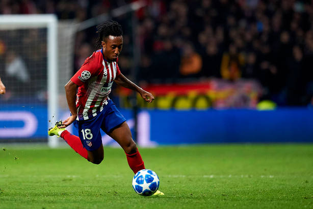 Gelson Martins, jugador del Atlético de Madrid (Cordon Press)