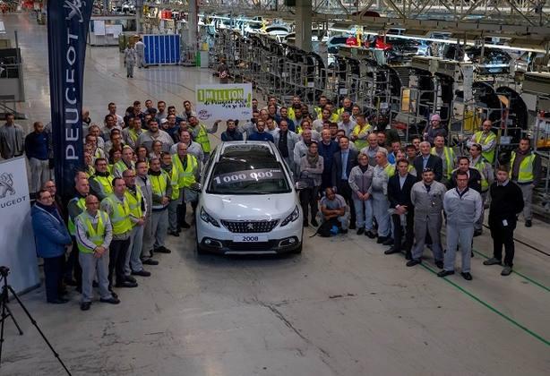 Peugeot alcanza una producción de un millón de unidades del 2008 en Mulhouse (Francia)